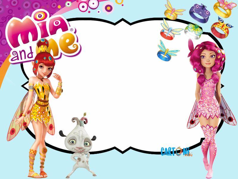 Mia and me Frame - Biglietti di auguri