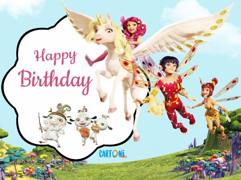 Mia and me Happy Birthday - Cartoni animati