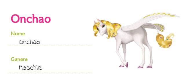 Mia and me cartoni animati unicorno Onchao creature centiopia cartone