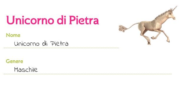Mia and me cartoni animati unicorni unicorno di Pietra