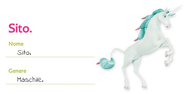 Mia and me unicorno Sito