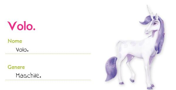 Mia and me unicorno Volo