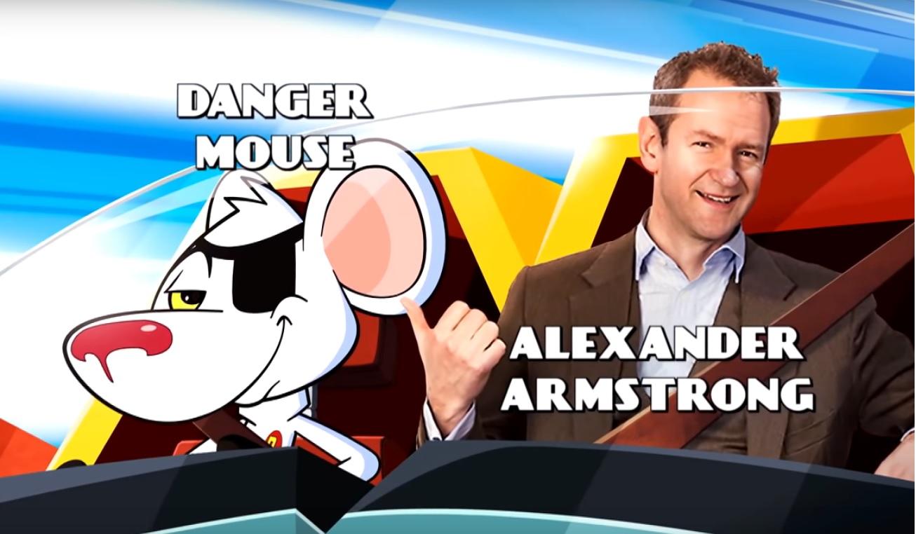 Danger Mouse Cartoni animati personaggi Doppiatori originali K2 Alexander Armstrong
