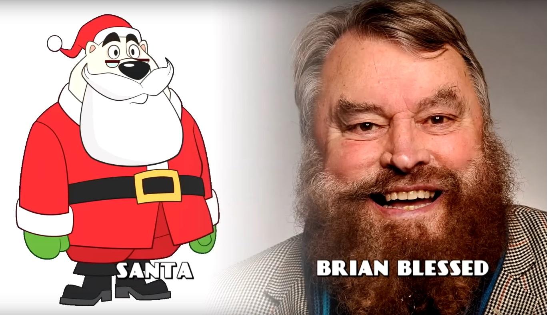 DAnger Mouse Cartoni animati personaggi Doppiatori originali K2 - Santa - Babbo Natale - Brian Blessed