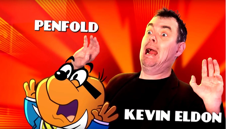 Penfold - Kevin Eldon - Danger Mouse Cartoni animati personaggi Doppiatori originali K2