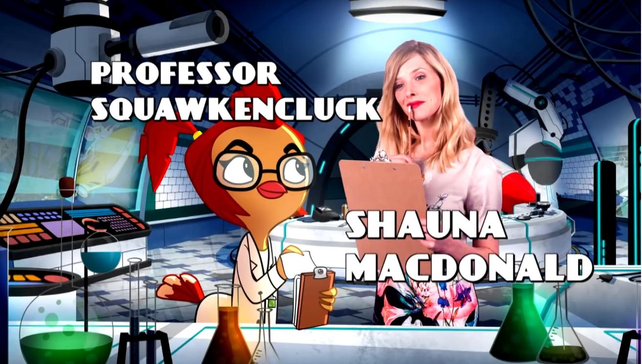 Danger Mouse Cartoni animati personaggi Doppiatori originali K2 - Professor Squawkencluck - Shauna - Characters