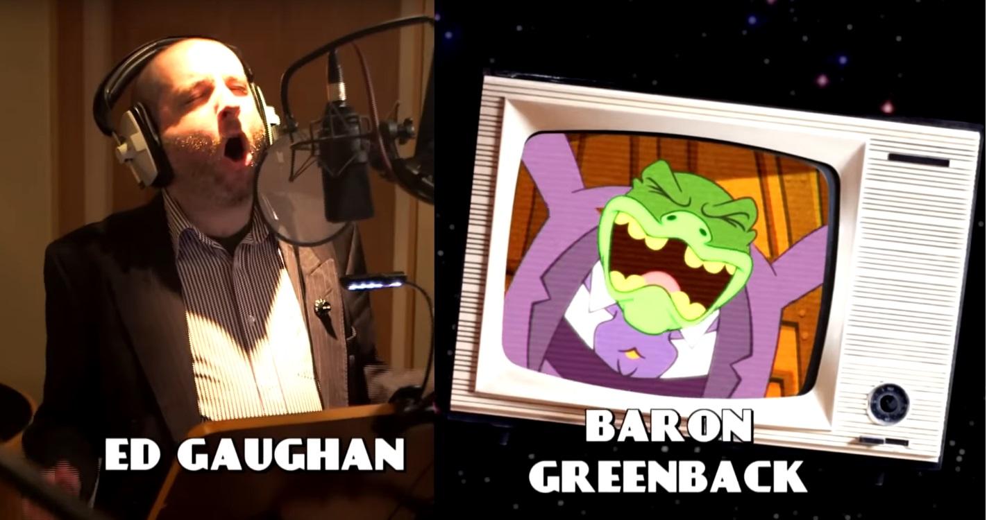 DAnger Mouse Cartoni animati personaggi Doppiatori originali K2 Charcaters - Ed Gaughan -  Baron Greenback