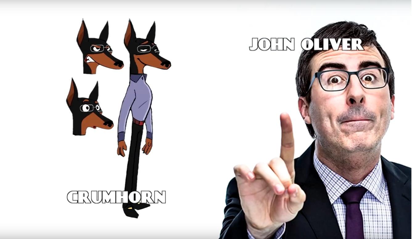 DAnger Mouse Cartoni animati personaggi Doppiatori originali K2 - Charcters - Voice John Oliver - Crumhorn