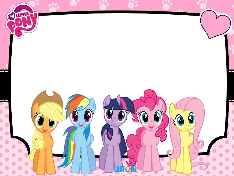 My little pony frame cartoni animati - Pony da colorare in immagini ...