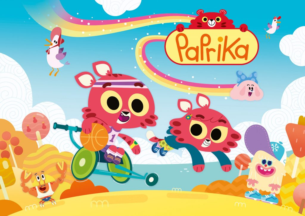Paprika - Cartoni animati
