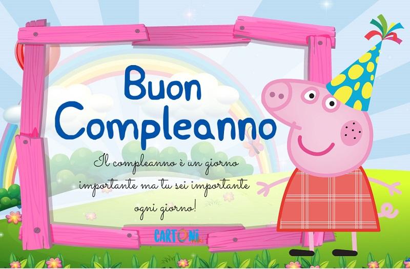 Buon compleanno con Peppa Pig