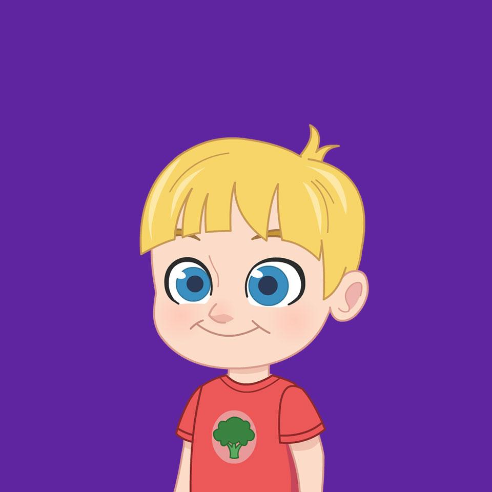 Polly Pocket cartone animato personaggi Paxton