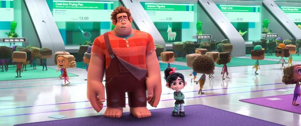 Ralph Spacca Internet - Film d'animazione 2018 - Disney - Cartoni animati