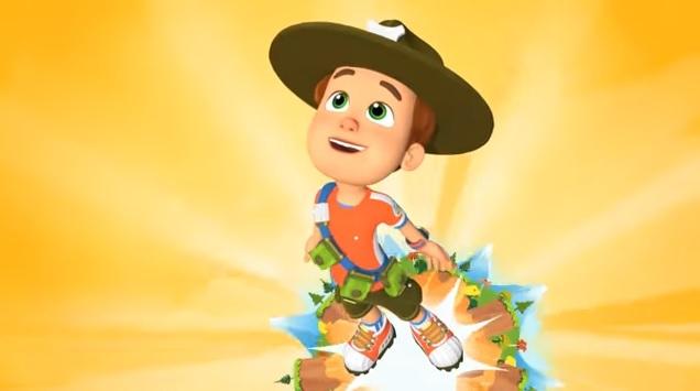 Ranger Rob - Cartoni animati