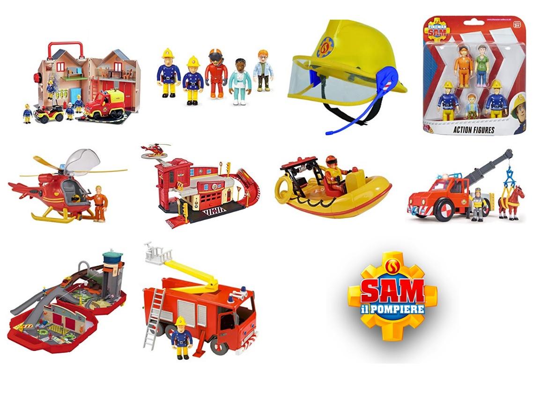 Giocattoli di Sam il pompiere - Cartoni animati