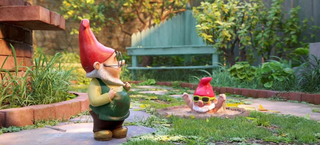 Sherlock Gnomes film d'animazione 2018 Paramount Animation gnomi Romeo e Giulietta