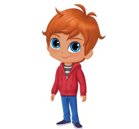 Personaggi Shimmer and Shine Zac cartoni animati Cartoonito Nick Jr