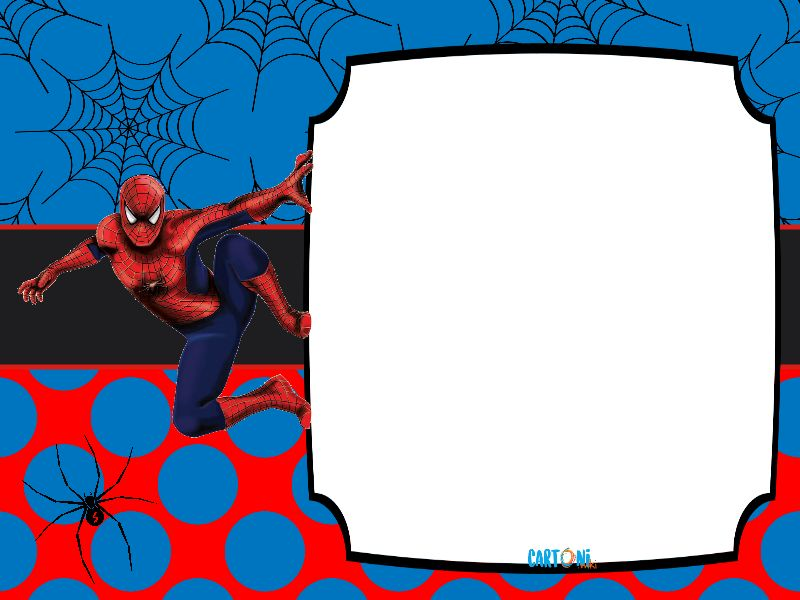 Spiderman Biglietti di auguri