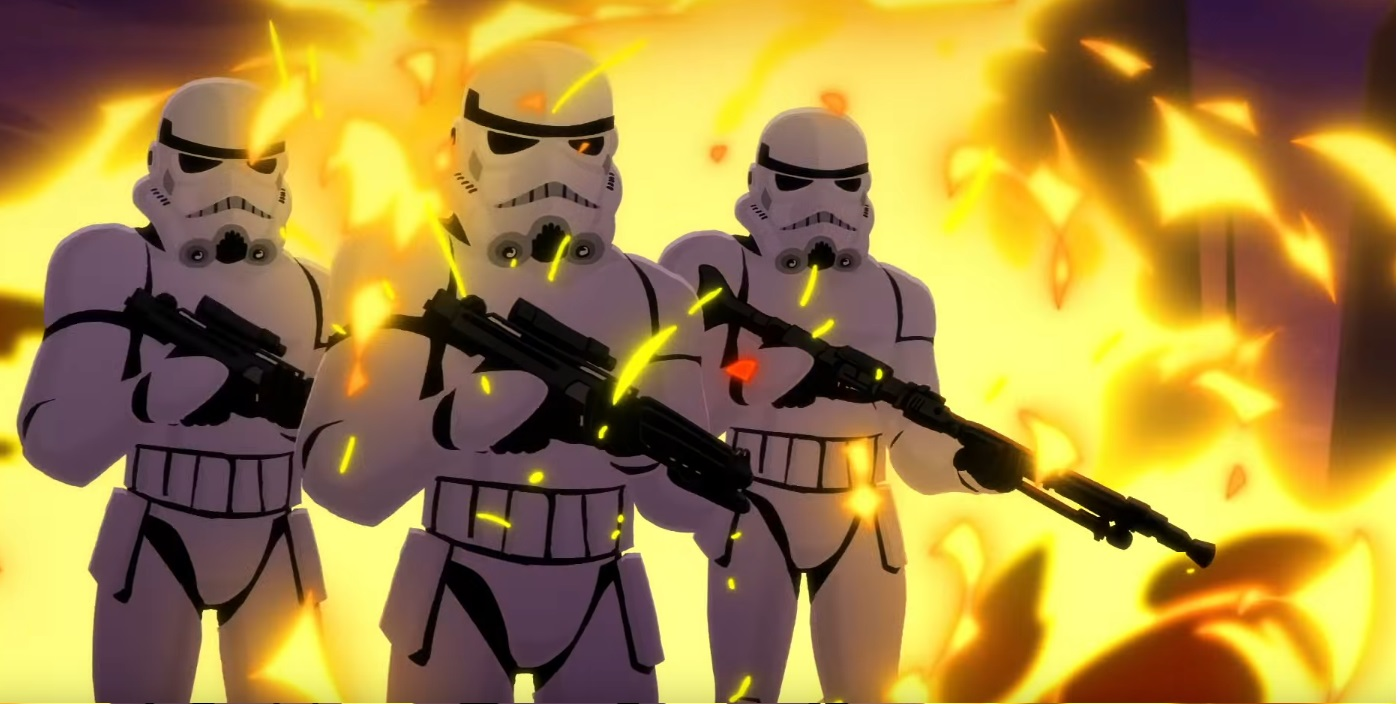 Star Wars Cortometraggi Galaxy Star of Galaxy di Star Wars - Cartoni animati