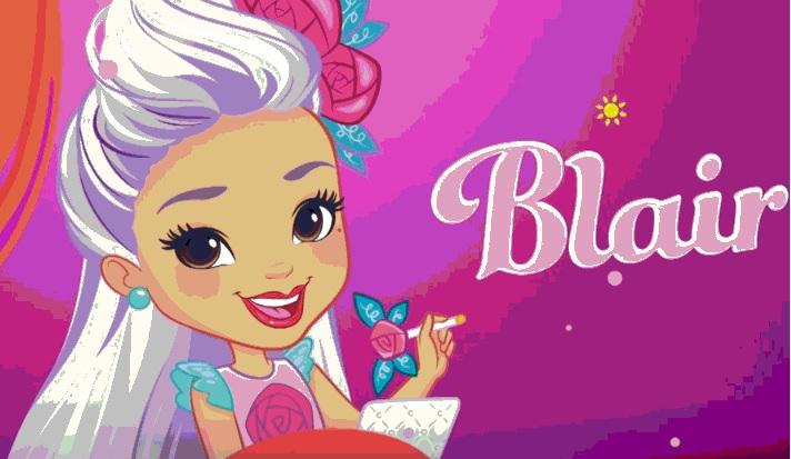 Sunny day cartoni animati personaggio Blai