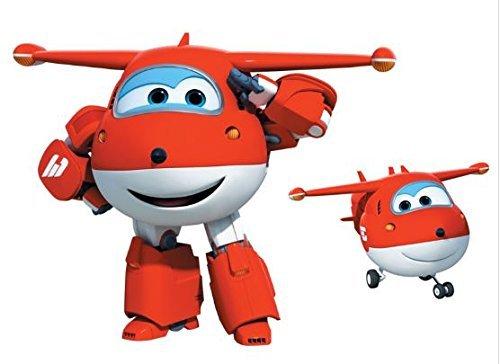 Super Wings Jett protagonista aereo rosso