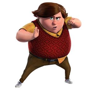 Trollhunters cartoni animati DreamWorks personaggio Toby