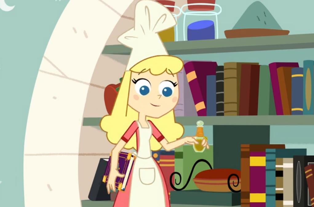Trulli Tales Miss Frisella  personaggi disney junior Rai Yoyo cartoni animati