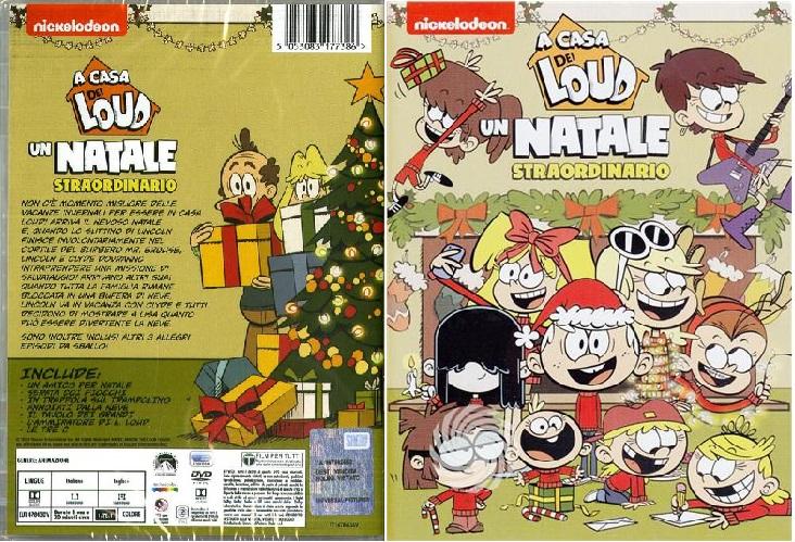 A casa Loud un natale straordinario dvd