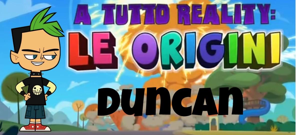 Duncan A tutto reality le origini personaggi - Total dramarama characters