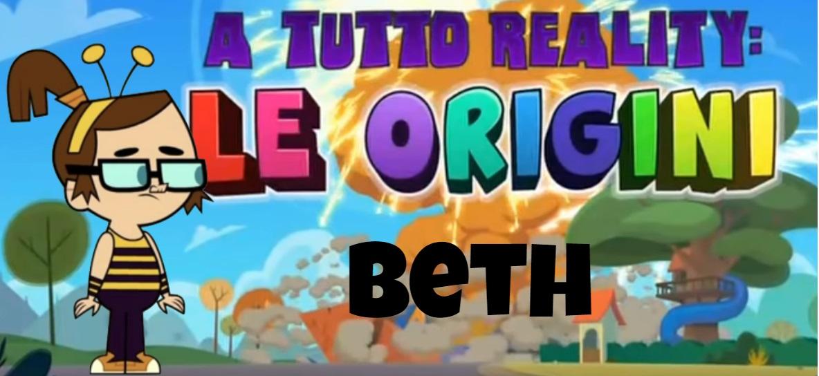 Beth A tutto reality le origini personaggi - Total dramarama characters