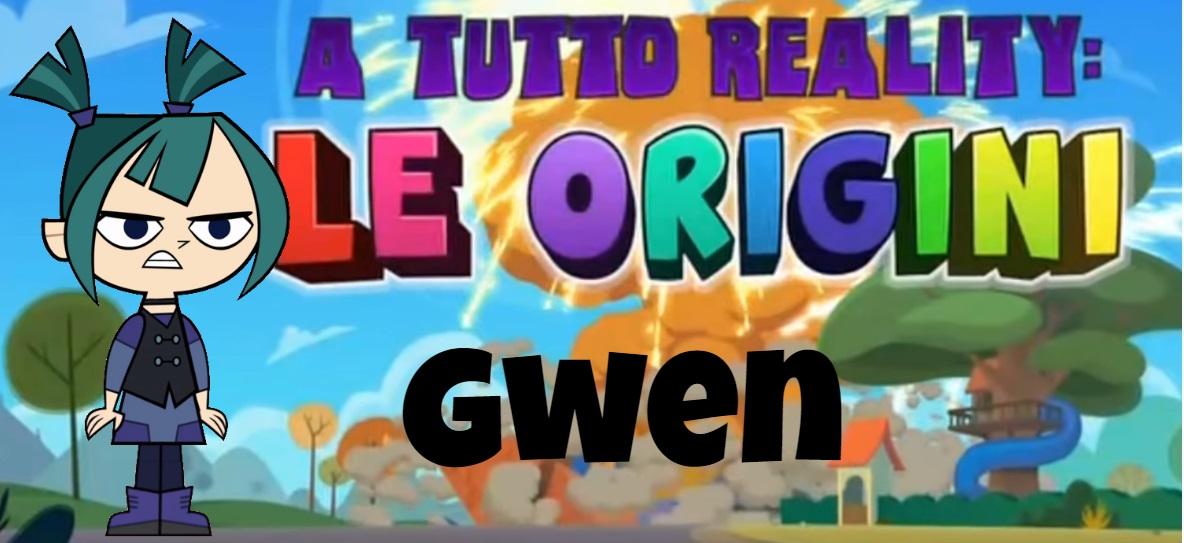 Gwen A tutto reality le origini personaggi - Total dramarama characters