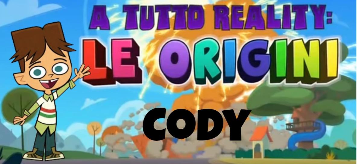 Cody A tutto reality le origini personaggi - Total dramarama characters