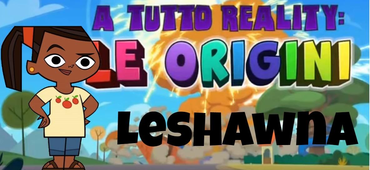 Leshawna A tutto reality le origini personaggi - Total dramarama characters