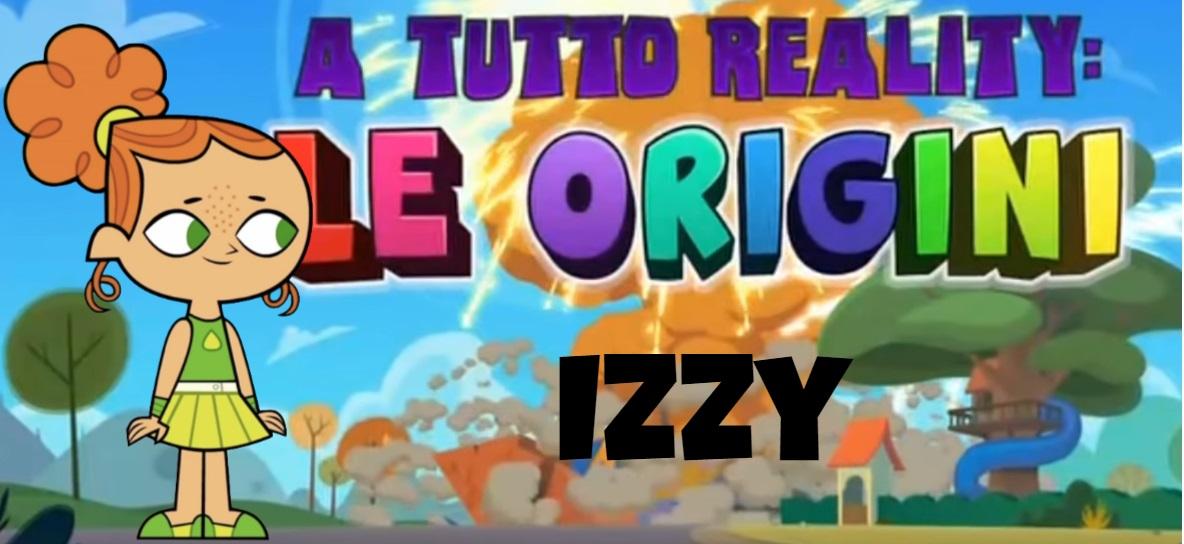Izzy A tutto reality le origini personaggi - Total dramarama characters