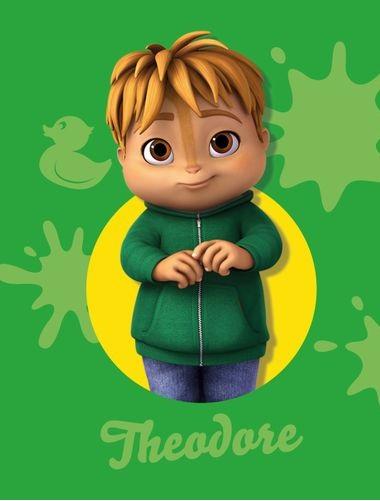 Theodore - Alvin e i chipmunks - Alvin and the chipmunks - Alvinn!! - cartone animato - Personaggi