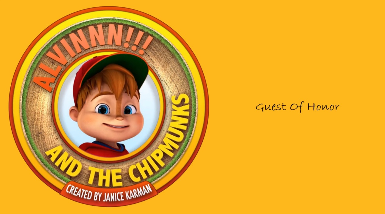 Guest of Honor from We're the Chipmunks