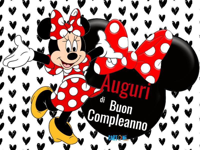 Auguri Di Buon Compleanno Con Topolina Cartoni Animati