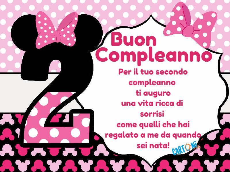 Biglietti Auguri Compleanno Di Violetta.Frasi Per Compleanno Per Bambini Di 2 Anni