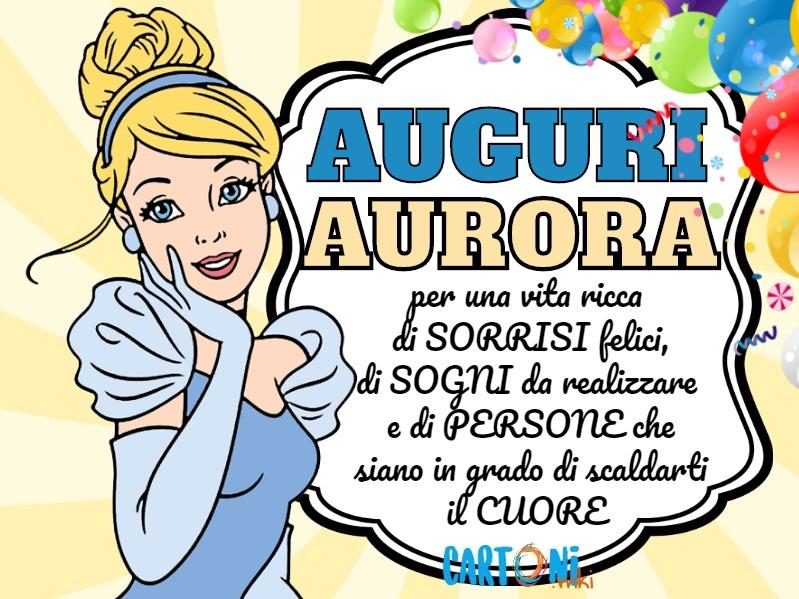 Aurora Auguri - Cartoni animati