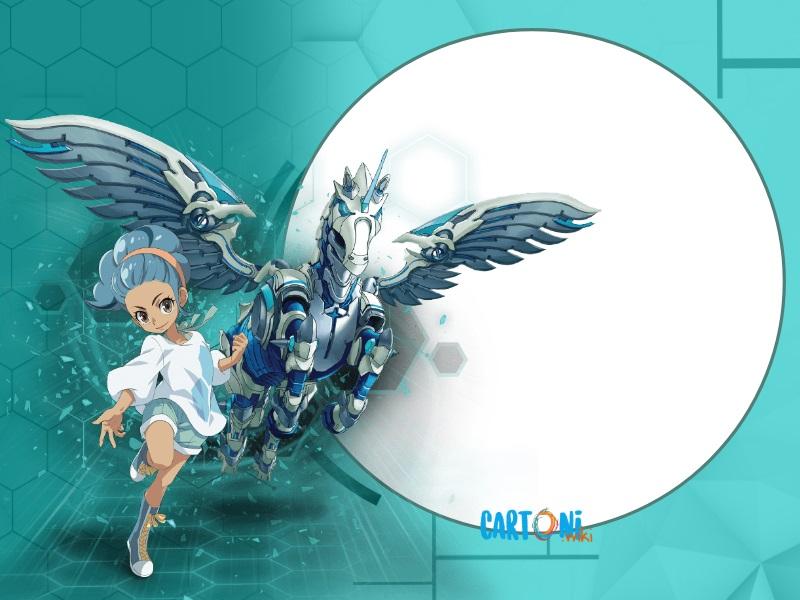 Bakugan Battle Planet Haos - Invito feste compleanno