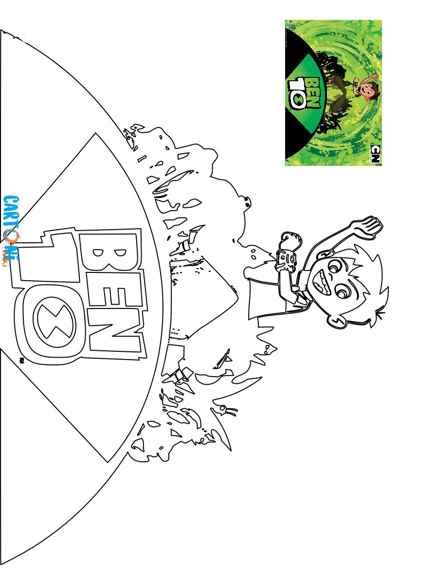 Ben 10 disegno da colorare - Disegni da colorare