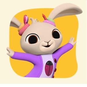 Bing - Personaggio Coco - cartone animato bambini età prescolare rai yoyo - cartoni - coniglio