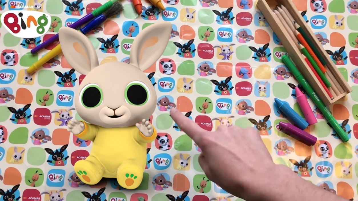 Come disegnare il coniglietto Charlie di Bing - Cartoni animati