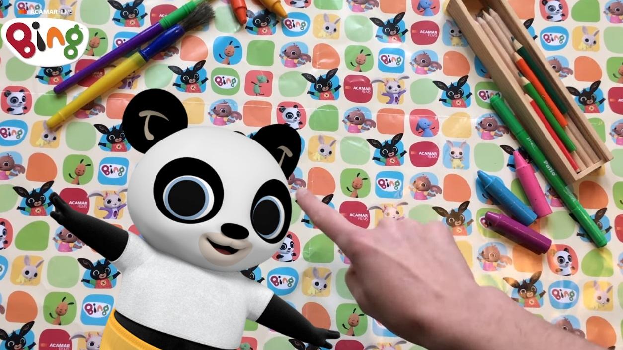 Bing Come disegnare Pando - Cartoni animati