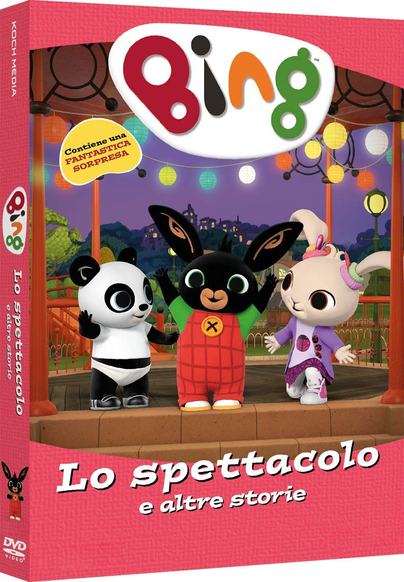 Bing coniglietto cartoni animati DVD acquista online Koch Media Lo spettacolo e altre storie