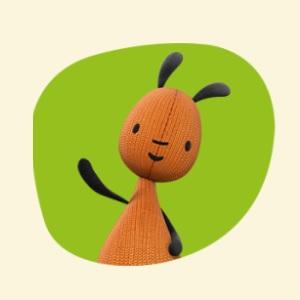 Bing - Personaggio Flop - cartone animato bambini età prescolare rai yoyo - cartoni - coniglio