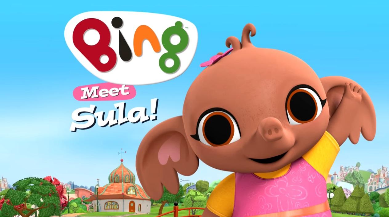 Sula - Bing cartone personaggi - bing friends - bing characters - cartone animato bambini età prescolare rai yoyo - cartoni animati - coniglio - bing coniglio cartone