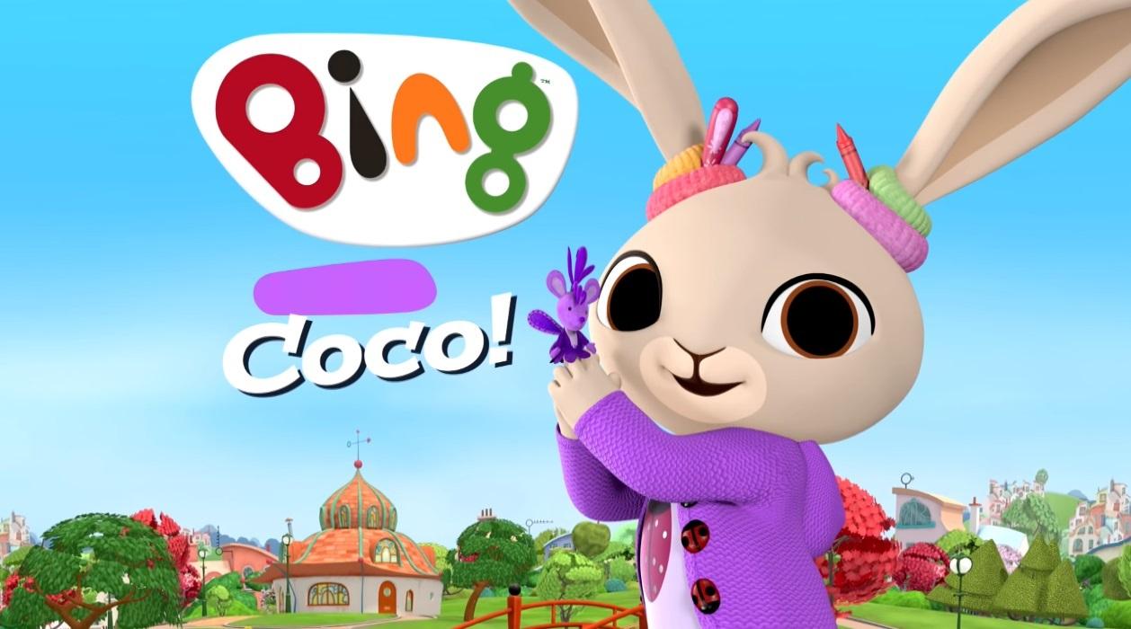 Coco - Bing cartone personaggi - bing friends - bing characters - cartone animato bambini età prescolare rai yoyo - cartoni animati - coniglio - bing coniglio cartone