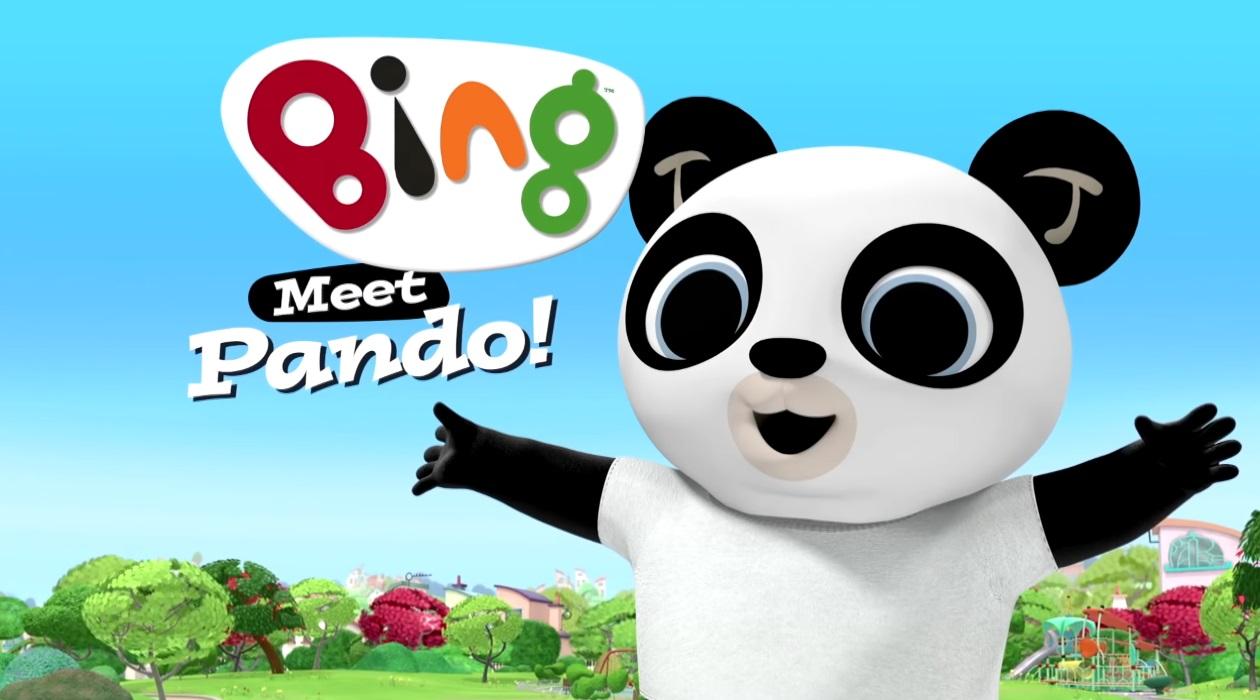 Pando Bing cartone personaggi - bing friends - bing characters - cartone animato bambini età prescolare rai yoyo - cartoni animati - coniglio - bing coniglio cartone