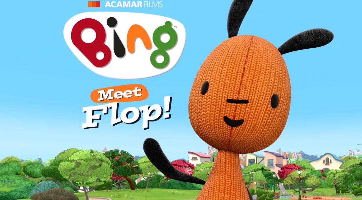 Flop - Bing cartone personaggi - bing friends - bing characters - cartone animato bambini età prescolare rai yoyo - cartoni animati - coniglio - bing coniglio cartone